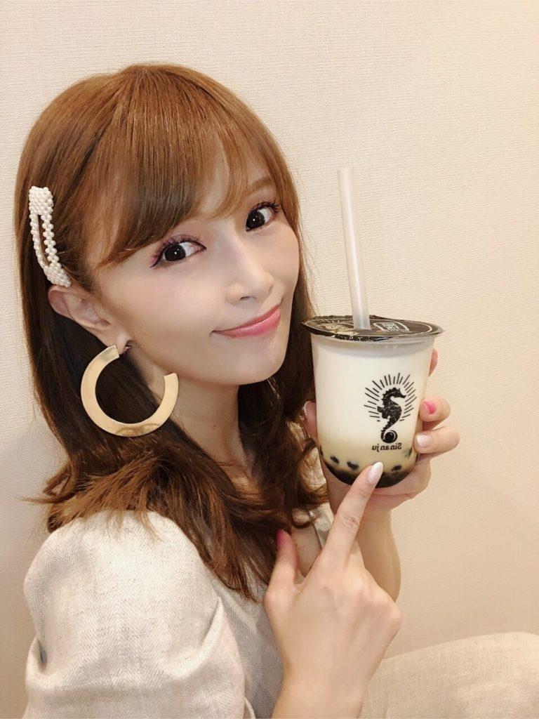 drinking tapioka